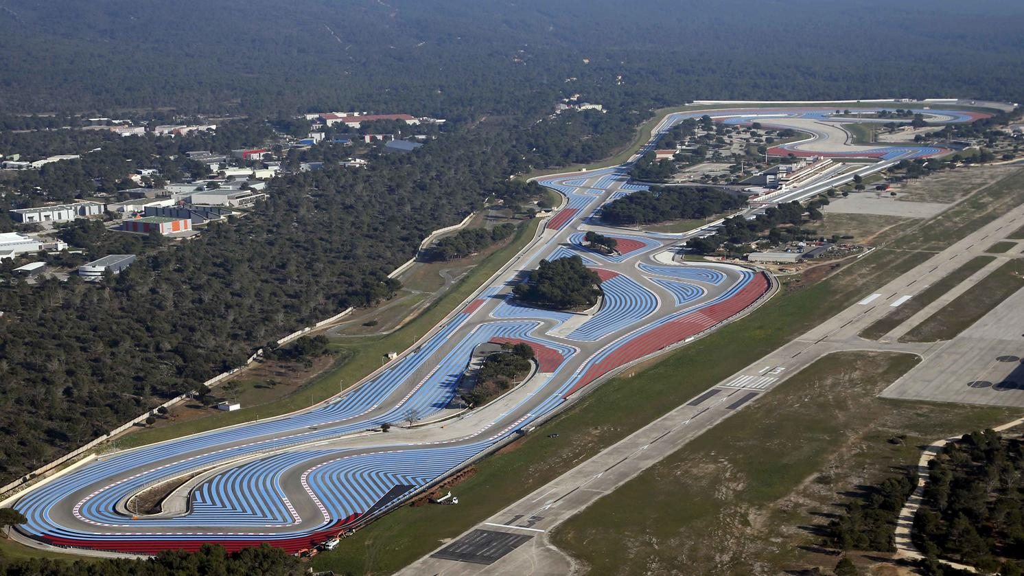 Le Castellet Circuit : 2018 french grand prix le castellet june 22 24 f1technical.net