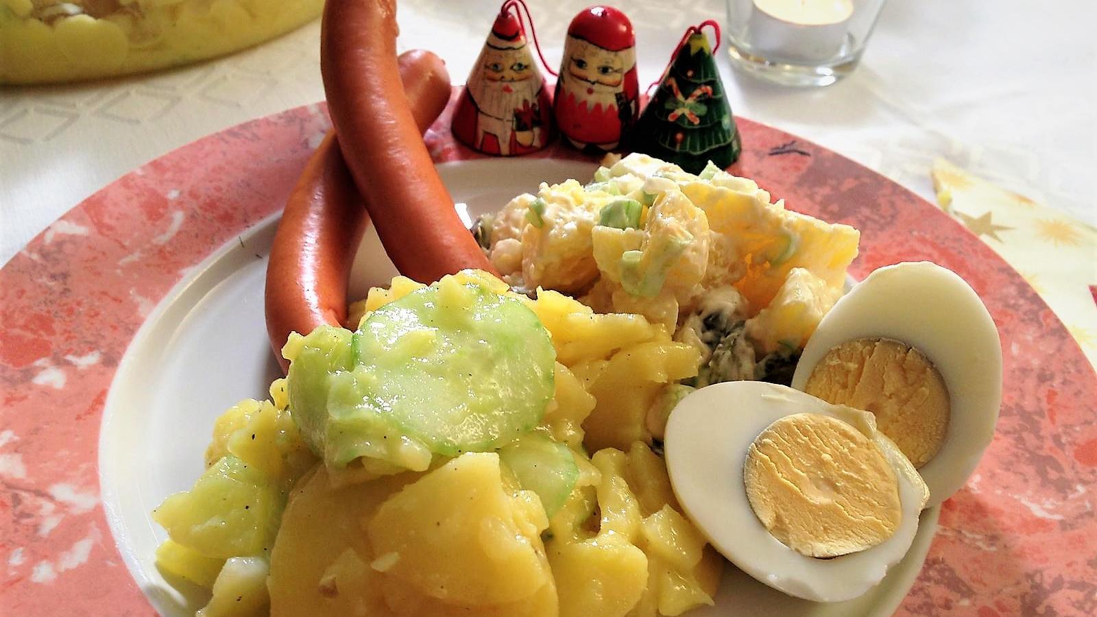 bayerischer und rheinischer kartoffelsalat rezept zum punkt 12 lieblingsgericht. Black Bedroom Furniture Sets. Home Design Ideas