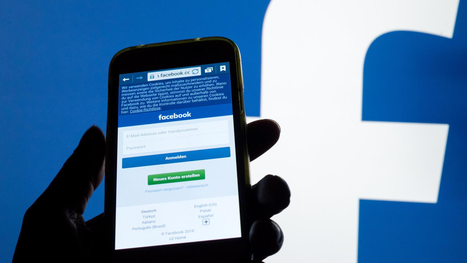 Brasil warsaw landing page w wersji mobile facebook