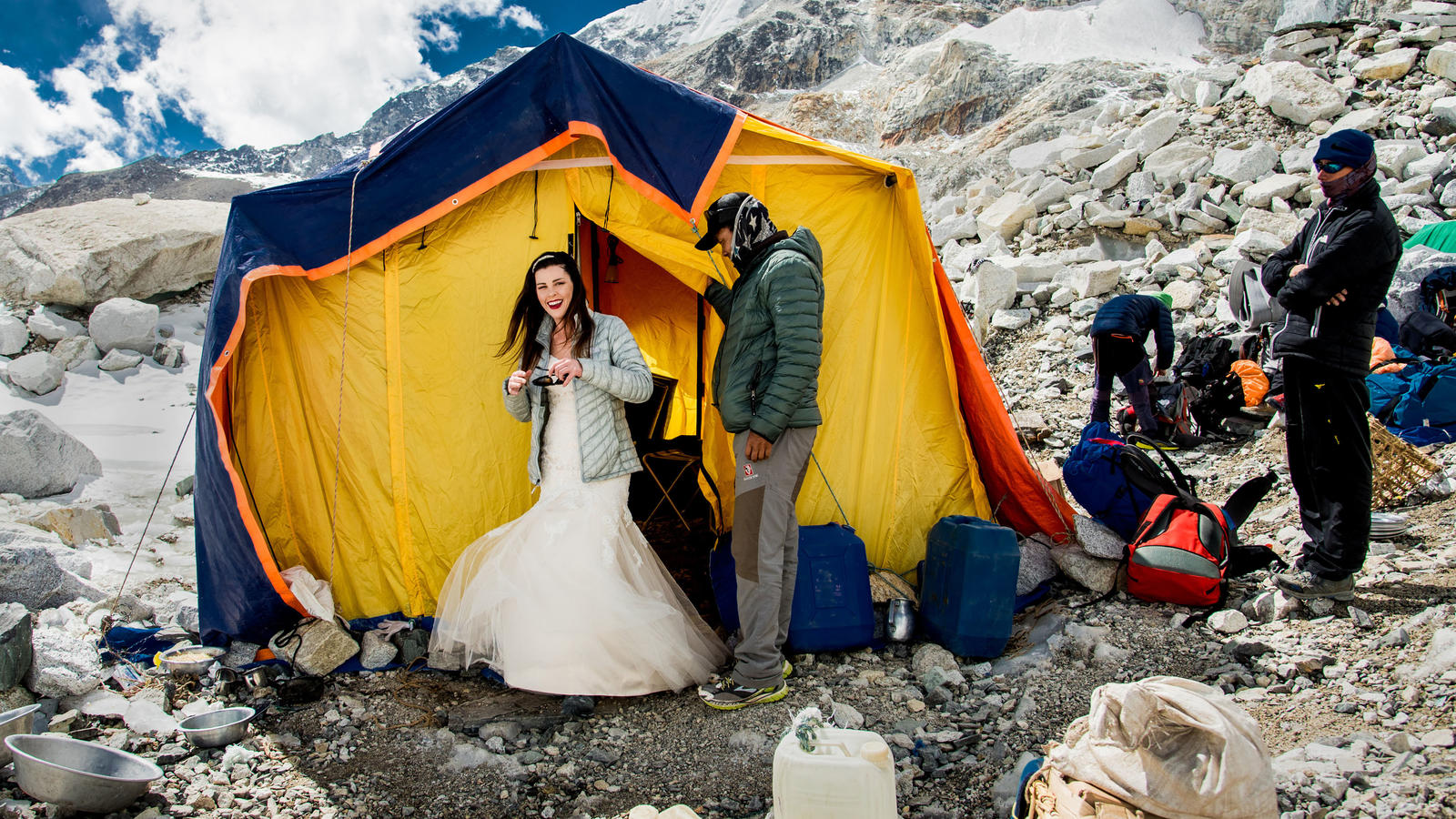 Online-Hochzeit in Nepal