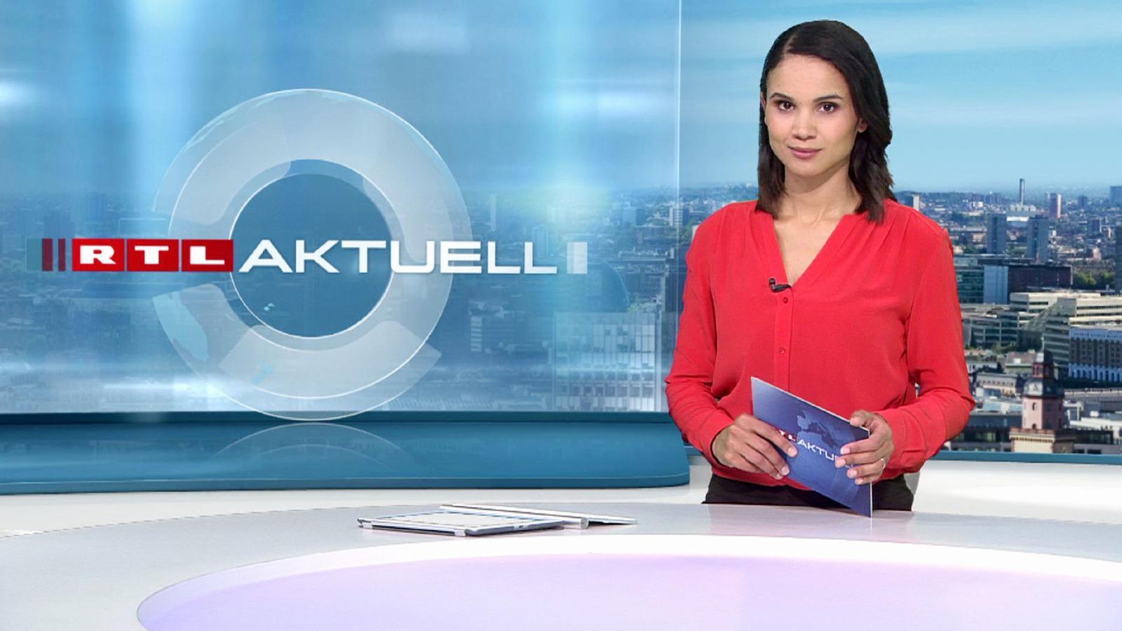 Charlotte Maihoff gibt Debüt als 'RTL Aktuell'-Moderatorin ...  Charlotte Maiho...