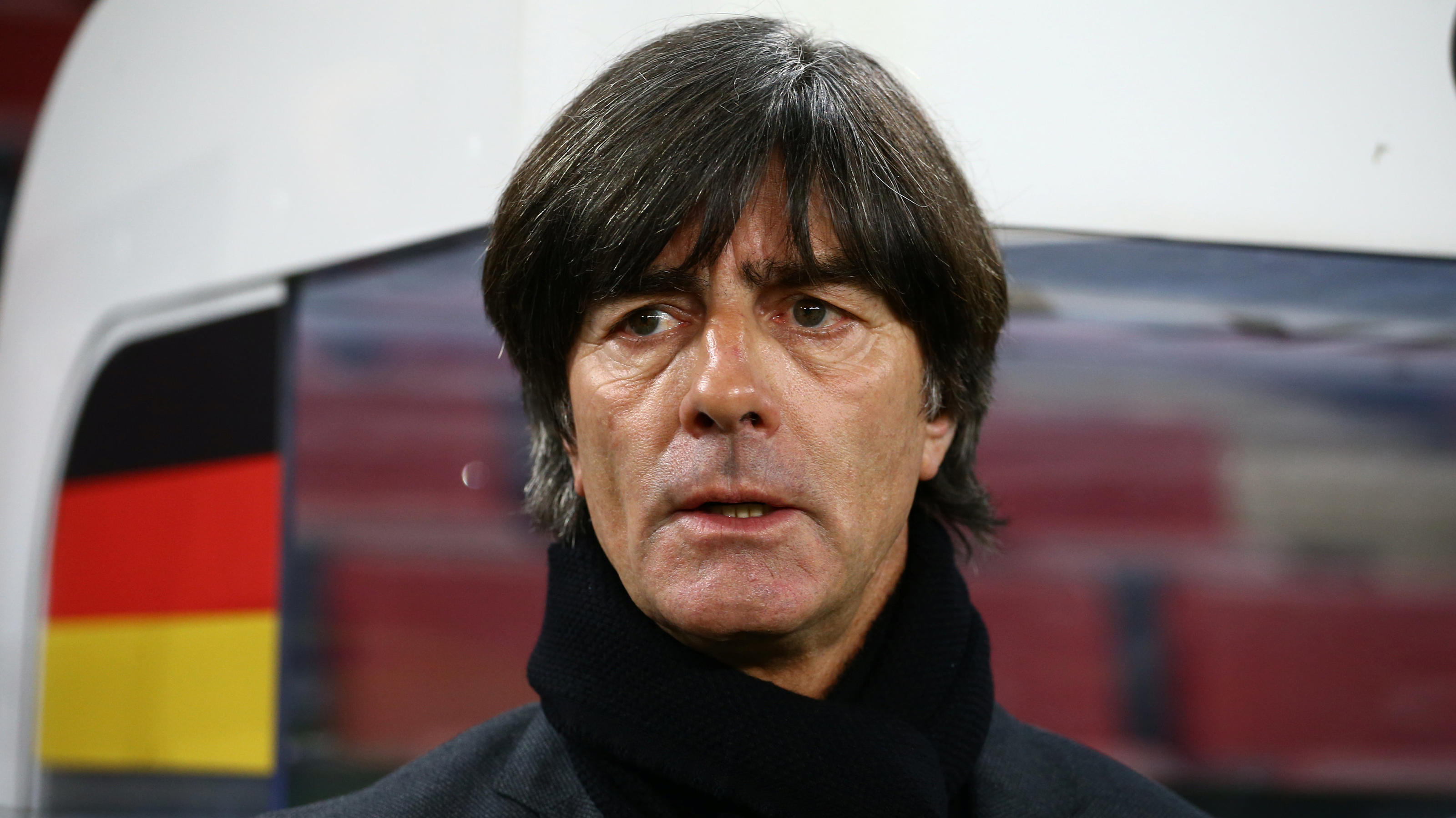 Soccer Football - International Friendly - Germany vs France - RheinEnergieStadion, Cologne, Germany - November 14, 2017   Germany coach Joachim Low before the match    REUTERS/Wolfgang Rattay