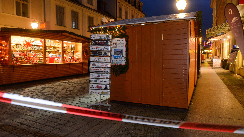 Weihnachtsmarkt in Potsdam evakuiert: Verdächtiges Paket war nicht ...