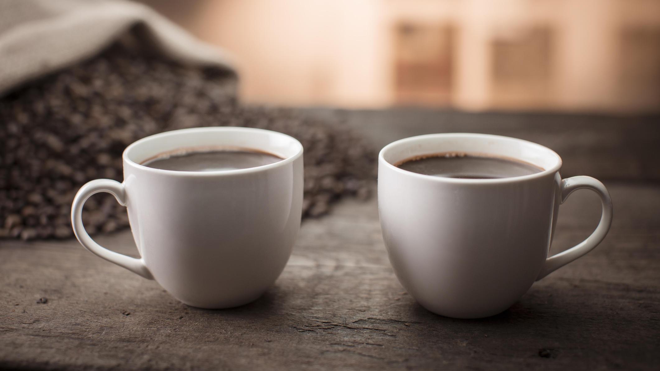 Aufgeschobener Kaffee