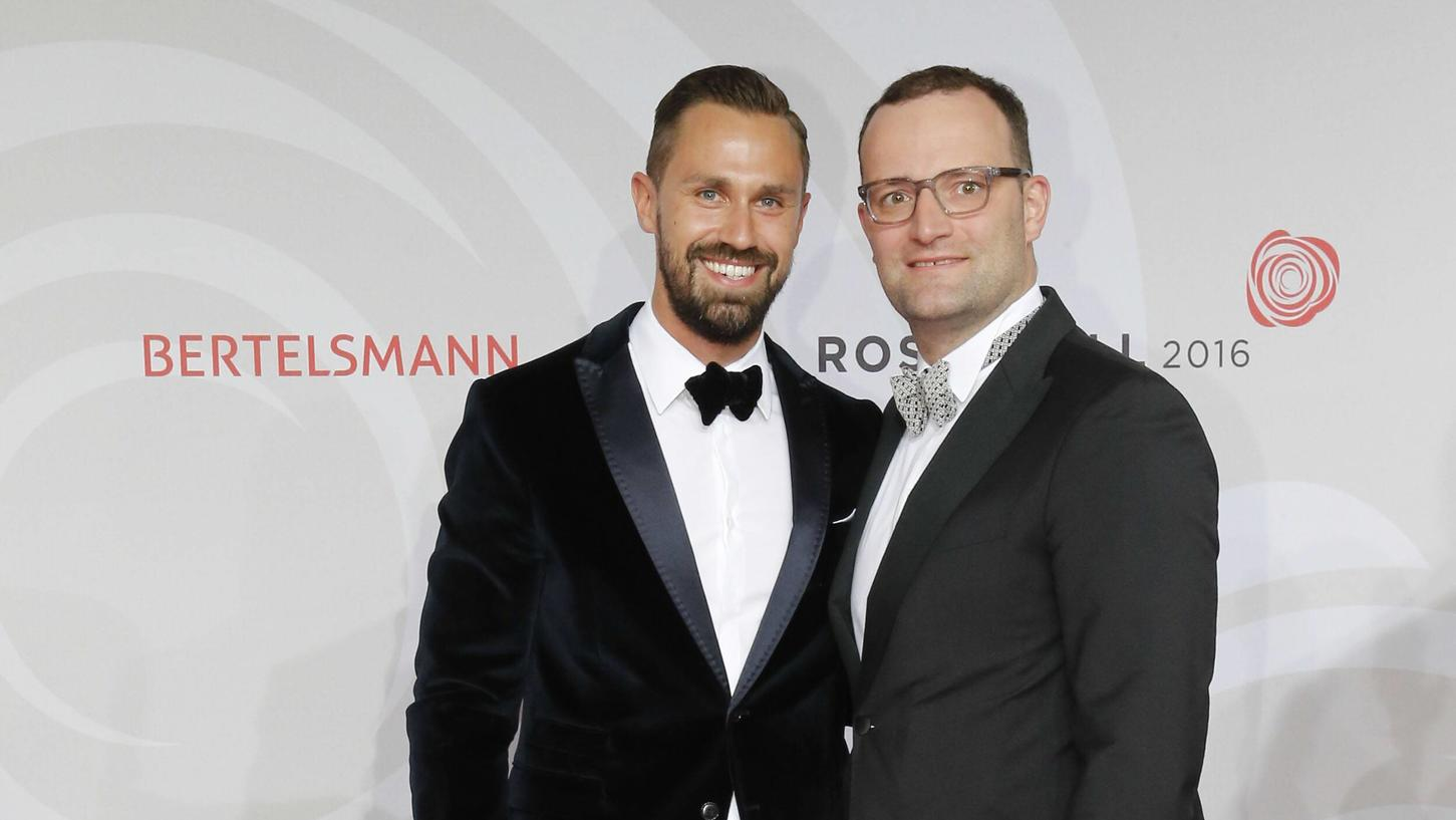 Jens Spahn Und Daniel Funke