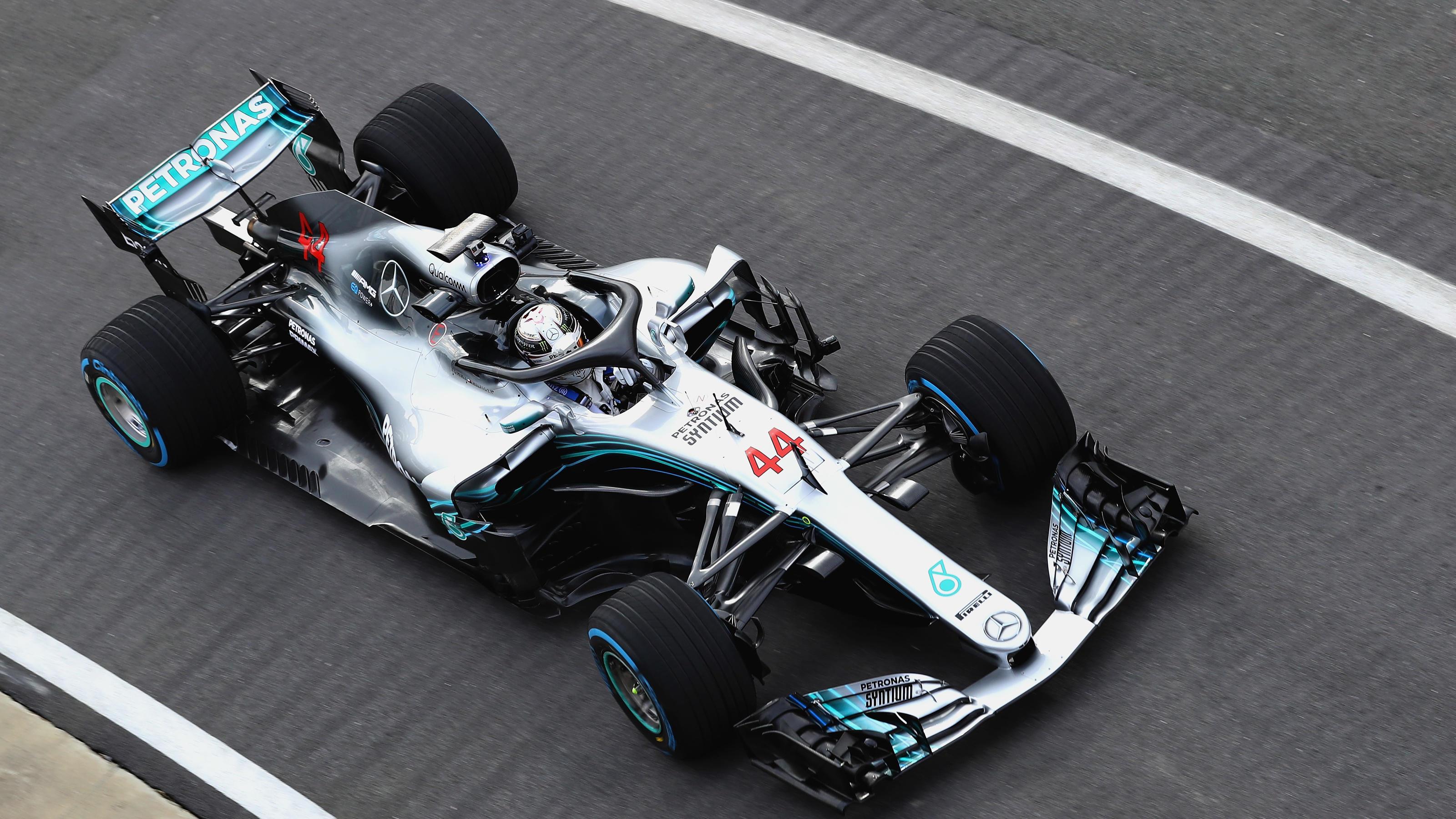 Formel 1: Mercedes präsentiert den neuen W09 EQ Power+ mit ...