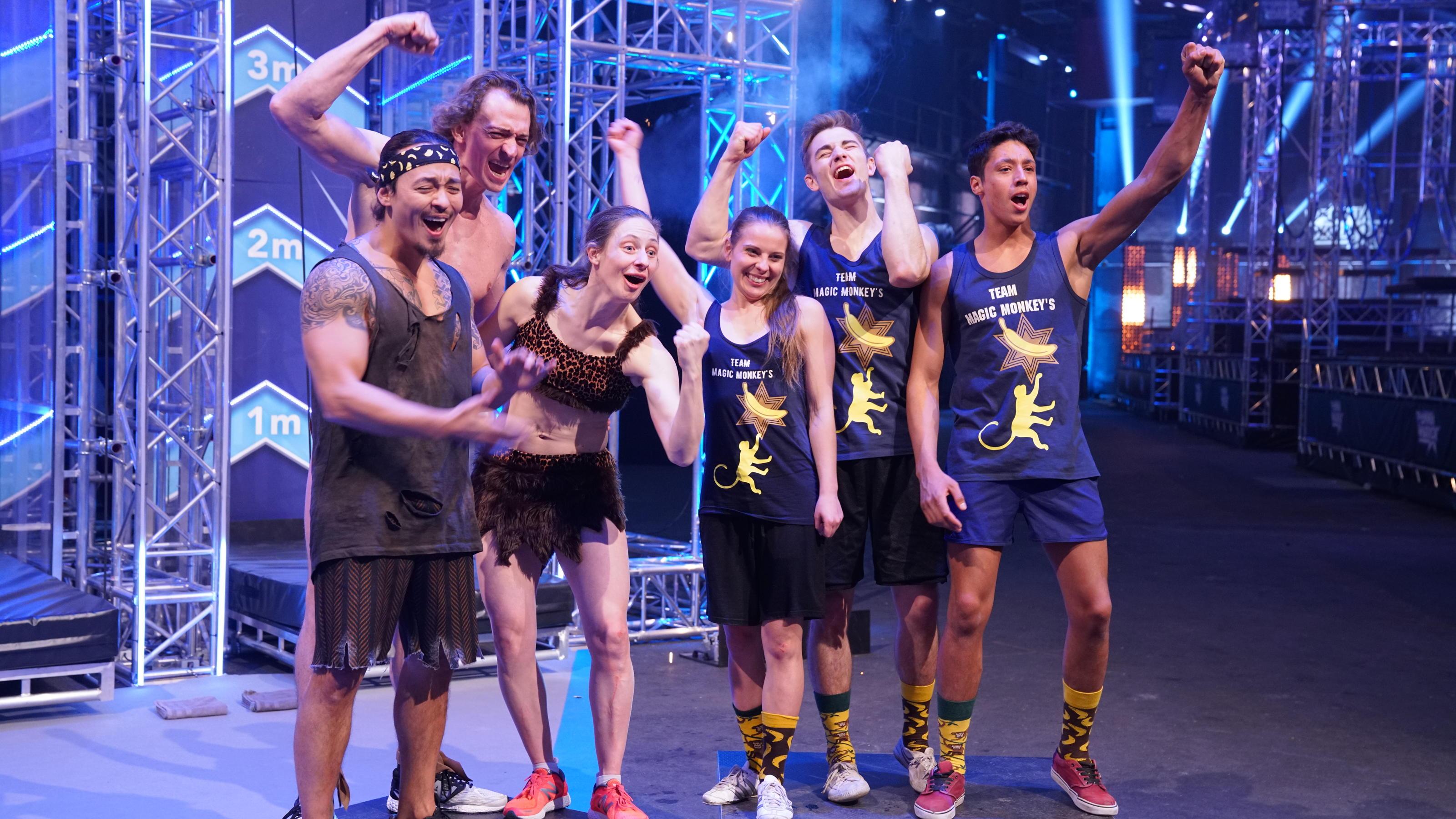 Team Ninja Warrior Finale