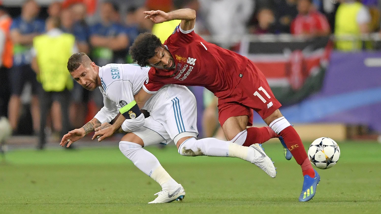 Opisywane zachowanie Ramosa (fot. RTL.de)