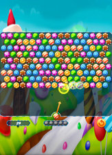 Bubble Shooter Candy - Screenshot