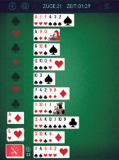 Forty Thieves Solitaire - Screenshot