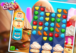 Ice Cream Blast - Screenshot