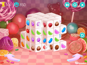 Mahjongg Dimensions Candy - Screenshot