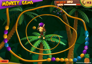Monkey Gems - Screenshot