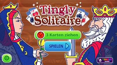 Tingly Solitaire - Screenshot