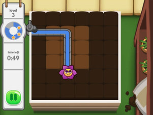 Daisy's Plumber Puzzle - Screenshot