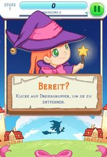 Cute Puzzle Witch - Screenshot