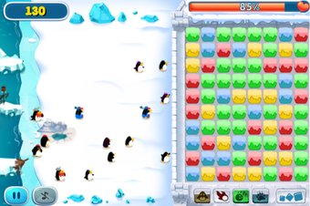 Click Snowball Fight - Screenshot
