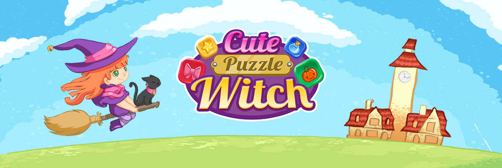 Cute Puzzle Witch - Presenter