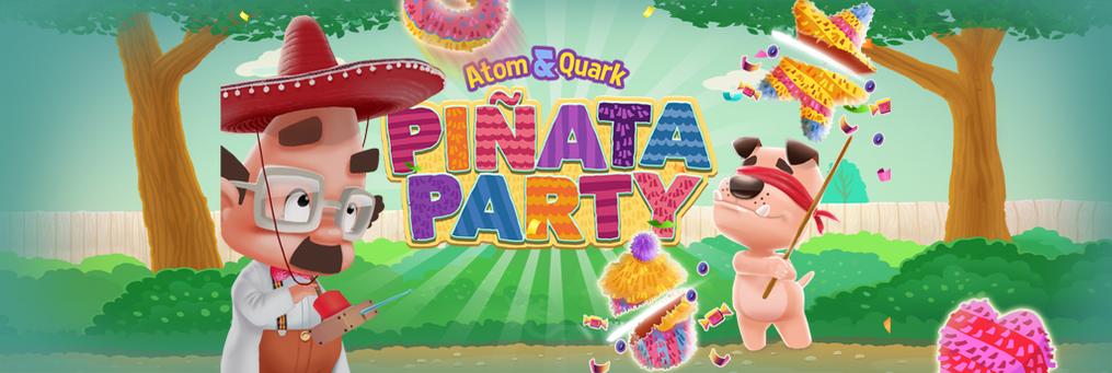 Atom & Quark: Pinata Party - Presenter