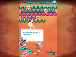 Atom & Quark: Bubble Fever - Screenshot