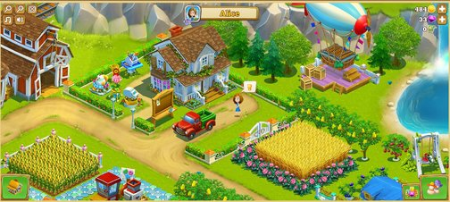 Golden Acres - Screenshot
