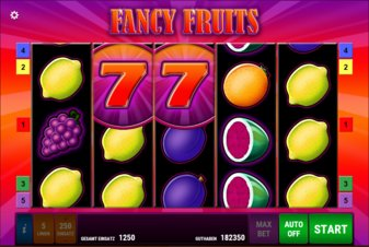 Fancy Fruits - Screenshot
