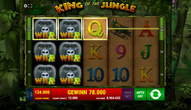 King of the Jungle - Screenshot