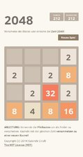 2048 - Screenshot