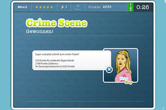 Crime Scene - Screenshot