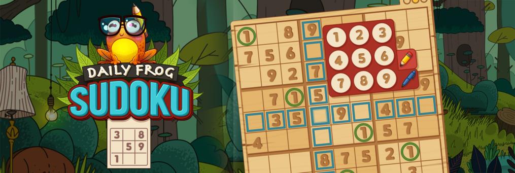 Daily Frog Sudoku - Presenter