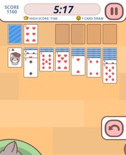 Cute Kitten Solitaire - Screenshot