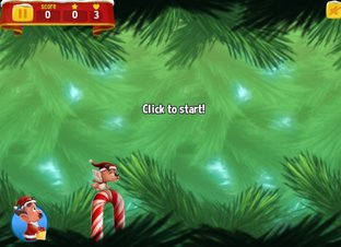 Flappy Christmas - Screenshot
