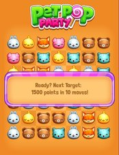 Pet Pop Party - Screenshot