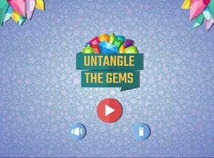 Untangle The Gems - Screenshot