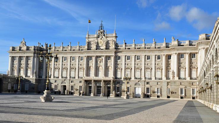 Madrid Königspalast