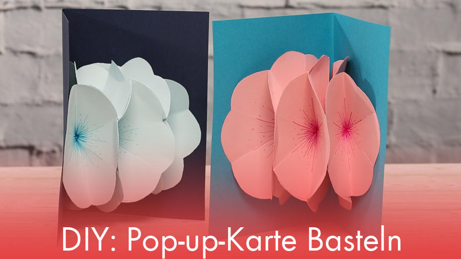 DIY: Pop-up-Karte Basteln