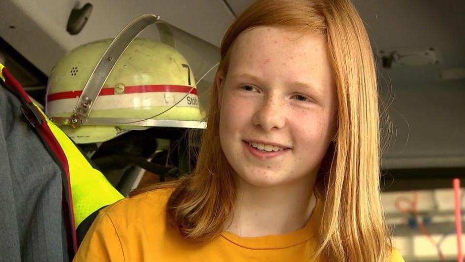 Krefeld: Feuer im Nachbarhaus - mutige 13-Jährige rettet