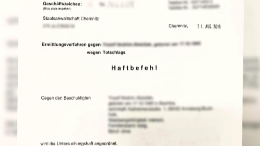 haftbefehl chemnitz