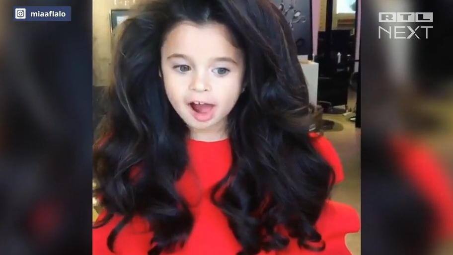Die Schönsten Haare Der Welt Fünfjährige Ist Vogue Model