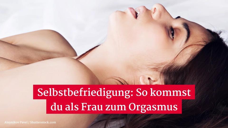 Frau Orgasmus Video