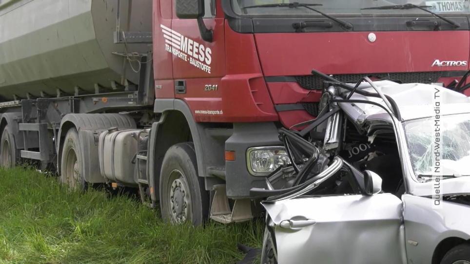 Tödlicher Unfall A61