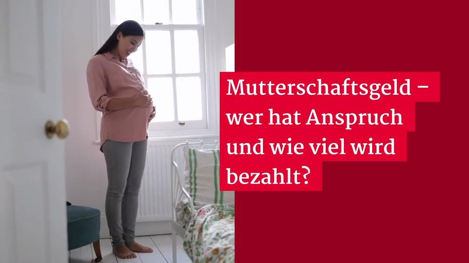 Wer Bekommt Mutterschaftsgeld