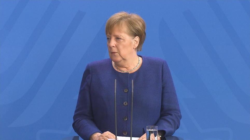 Merkel Kontaktsperre