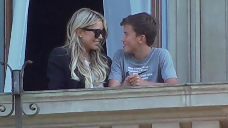 Sylvie Meis genießt Kuschelmomente mit Sohn Damien