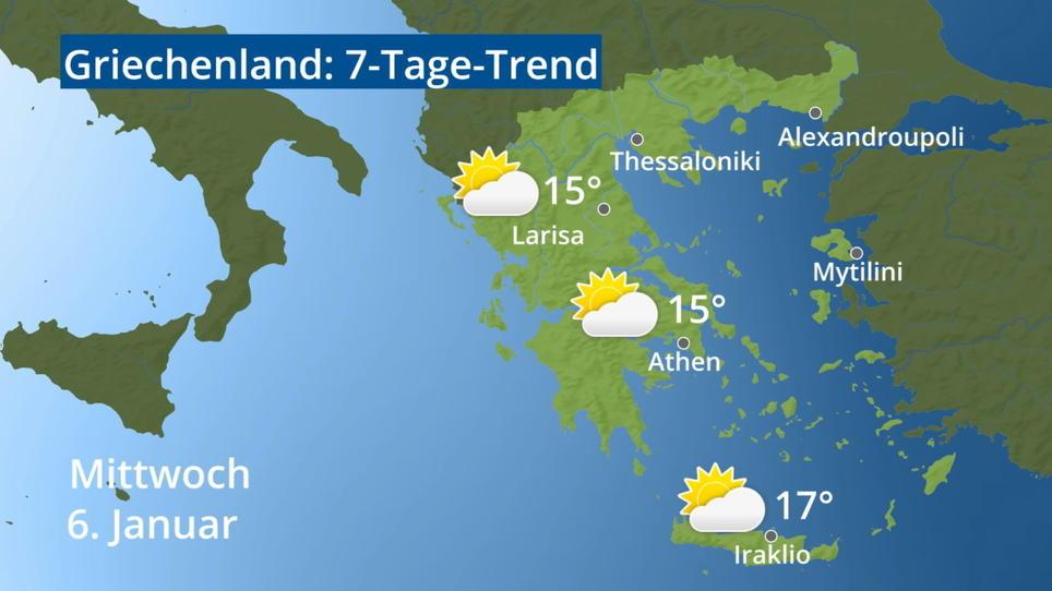 Wetter Thessaloniki 16 Tage