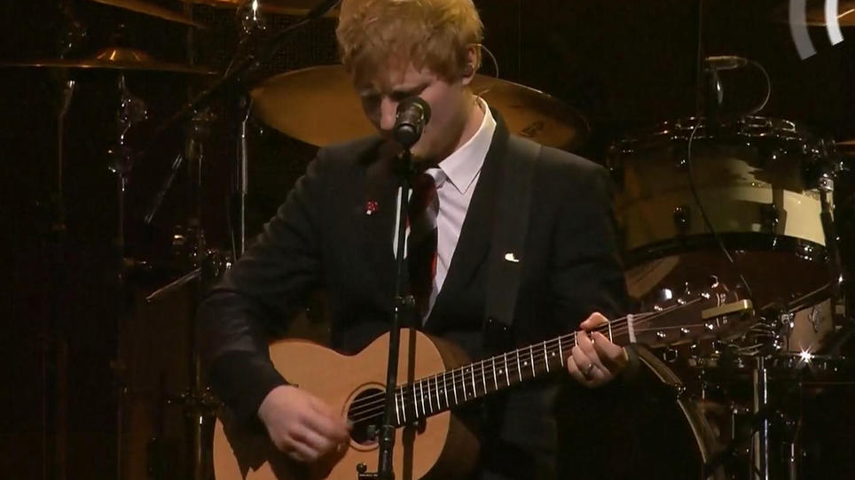 Ed Sheeran zu Tränen gerührt