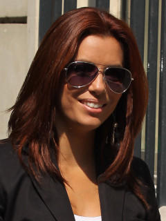 Eva Longoria Welche Haarfarbe ist besser?